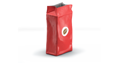 Bags for coffee beans, ground coffee and coffee pads